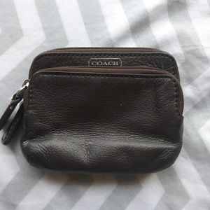 Coach tiny wallet